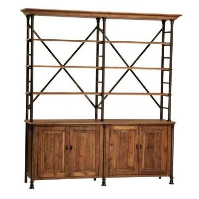 Portebello Double Bookcase